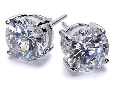Diaond Stud Earrings are an ever-popular choice, for brilliant diamonds you can wear any time.